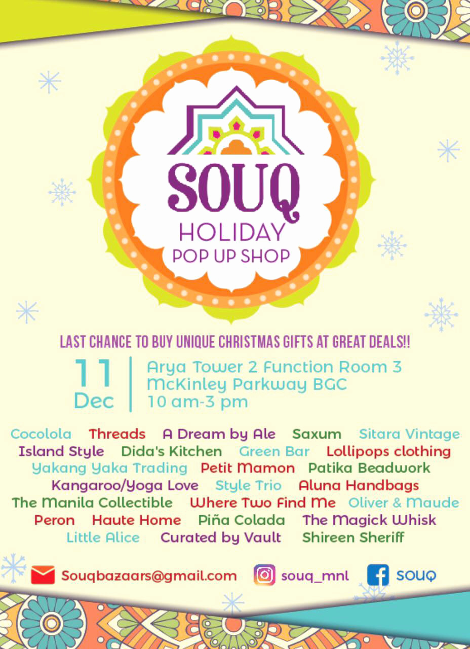Pop Up Shop Invitation New souq Holiday Pop Up Shop What S New where Two Find Me