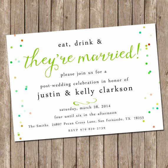 Post Wedding Reception Invitation Wording Beautiful Wedding Brunch Invitation Bridesmaids Luncheon Invitation