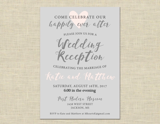 Post Wedding Reception Invitation Wording Luxury 41 Wedding Invitations Psd Ai Eps