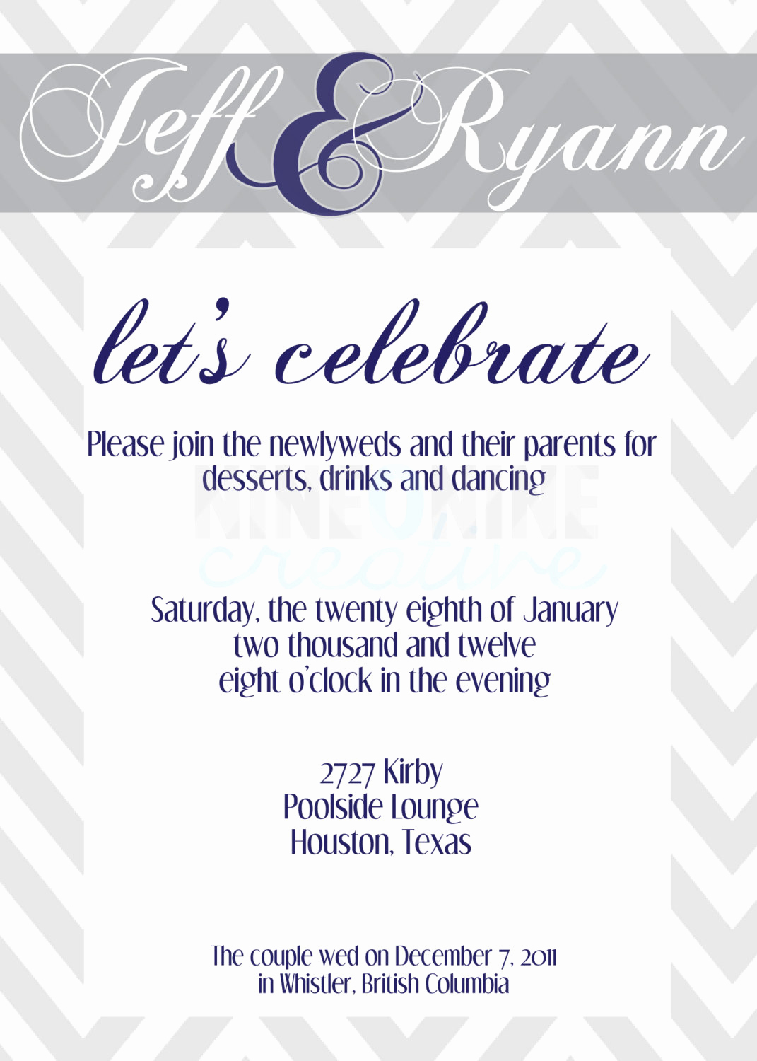 Post Wedding Reception Invitation Wording Unique Post Wedding Reception Invitations Templates