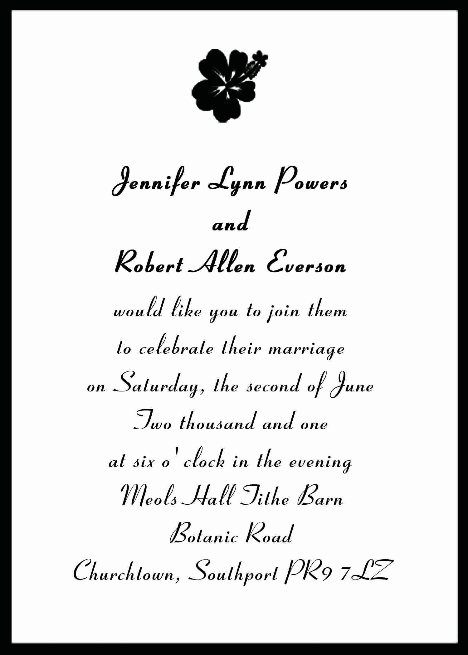 Post Wedding Shower Invitation Wording Fresh Wedding Invitation Creative Wedding Invitation Wording