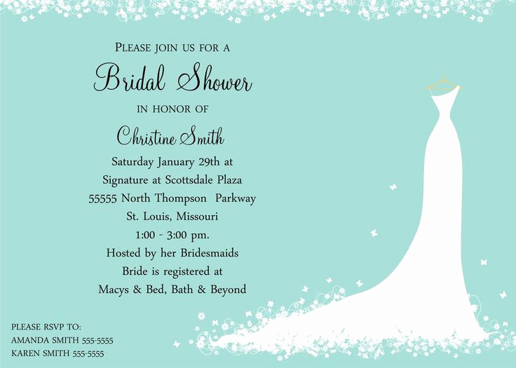 Post Wedding Shower Invitation Wording New 25 Cute Bridal Shower Invitation Wording Ideas On