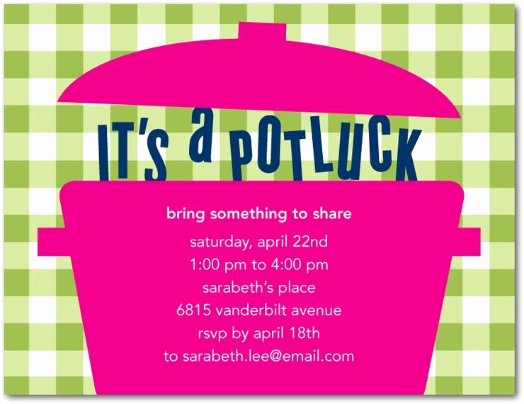 Potluck Baby Shower Invitation Elegant Snapshot Party Ideas