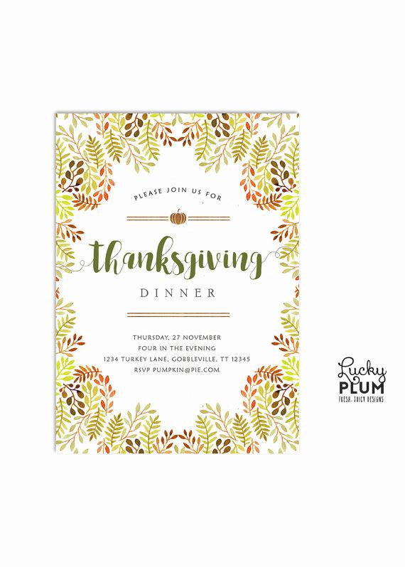Potluck Baby Shower Invitation Inspirational Thanksgiving Invitation Autumn Harvest Invite Potluck