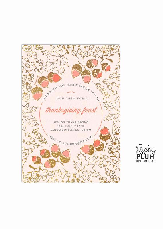 Potluck Baby Shower Invitation Lovely Thanksgiving Invitation Autumn Harvest Invite Potluck