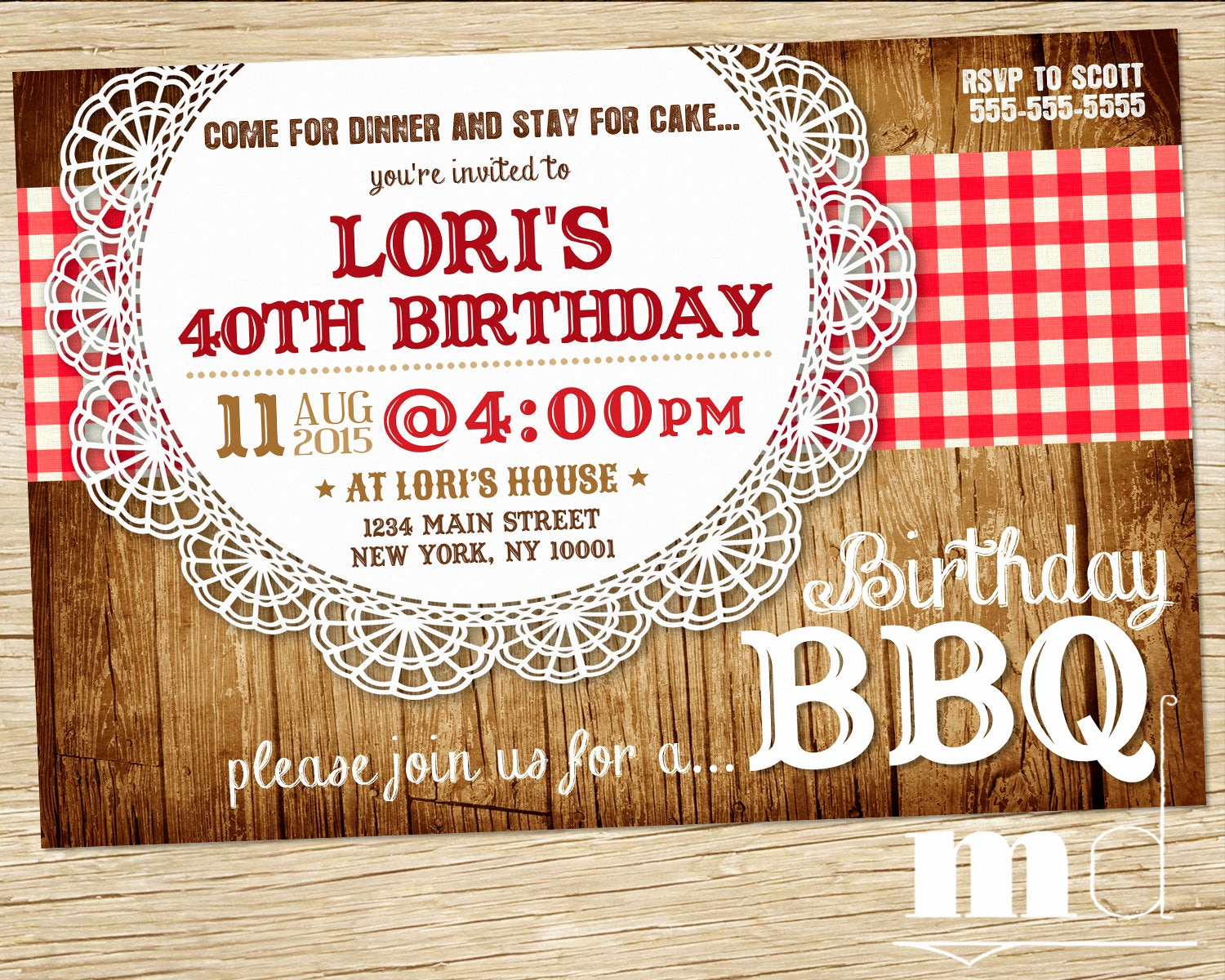 Potluck Bbq Invitation Wording Beautiful Bbq Birthday Invite Barbecue Birthday Invitation Picnic