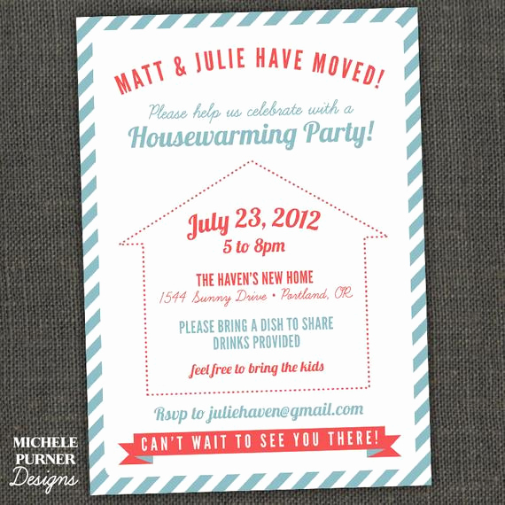 Potluck Bbq Invitation Wording Best Of Housewarming Party New Home Bbq Potluck by