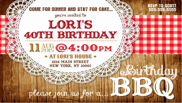 Potluck Bbq Invitation Wording Fresh 12 Potluck Party Invitation Designs & Templates Psd Ai