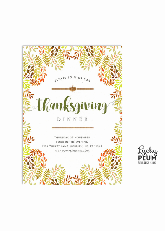 Potluck Bridal Shower Invitation Wording Lovely Thanksgiving Invitation Autumn Harvest Invite Potluck