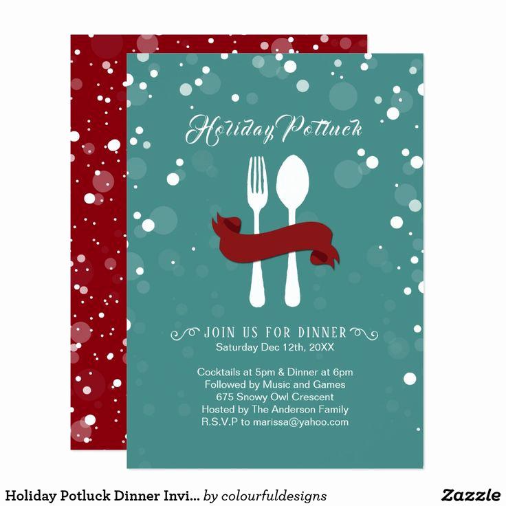 Potluck Dinner Invitation Wording Awesome Best 25 Potluck Invitation Ideas On Pinterest
