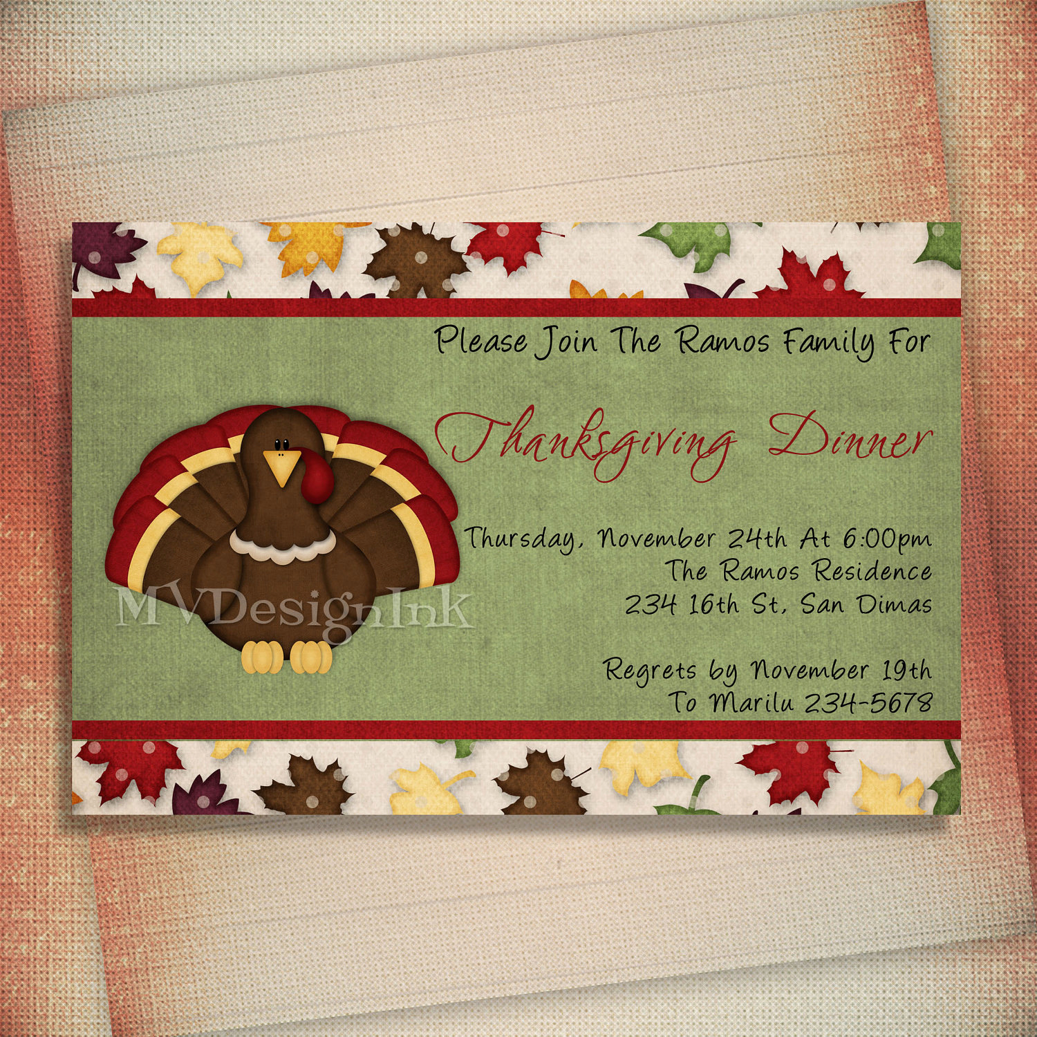 Potluck Dinner Invitation Wording Beautiful Thanksgiving Dinner Invitation Thanksgiving Potluck by