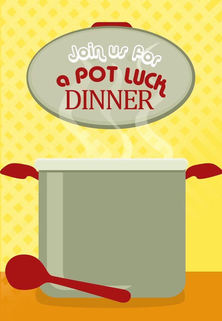 Potluck Dinner Invitation Wording Fresh Free Printable Pot Luck Dinner Invitation