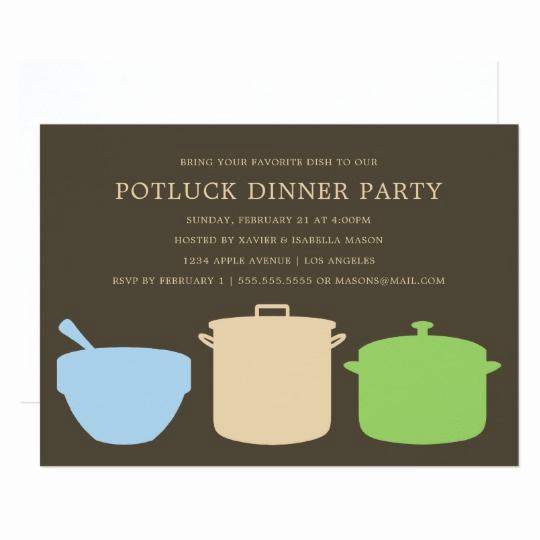 Potluck Dinner Invitation Wording Unique Potluck Dinner Party Invite