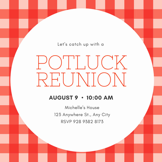 Potluck Invitation Template Free Awesome Customize 7 888 Invitation Templates Online Canva