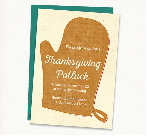 Potluck Invitation Template Free Printable Inspirational 13 Potluck Email Invitation Templates Psd Ai