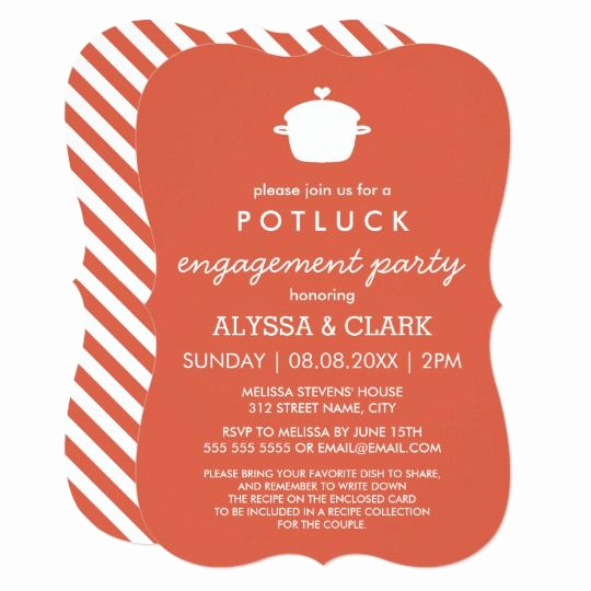 Potluck Wedding Invitation Wording Awesome Best 25 Potluck Invitation Ideas On Pinterest