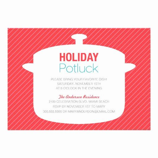 Potluck Wedding Invitation Wording Inspirational Holiday Potluck Invitation Wording