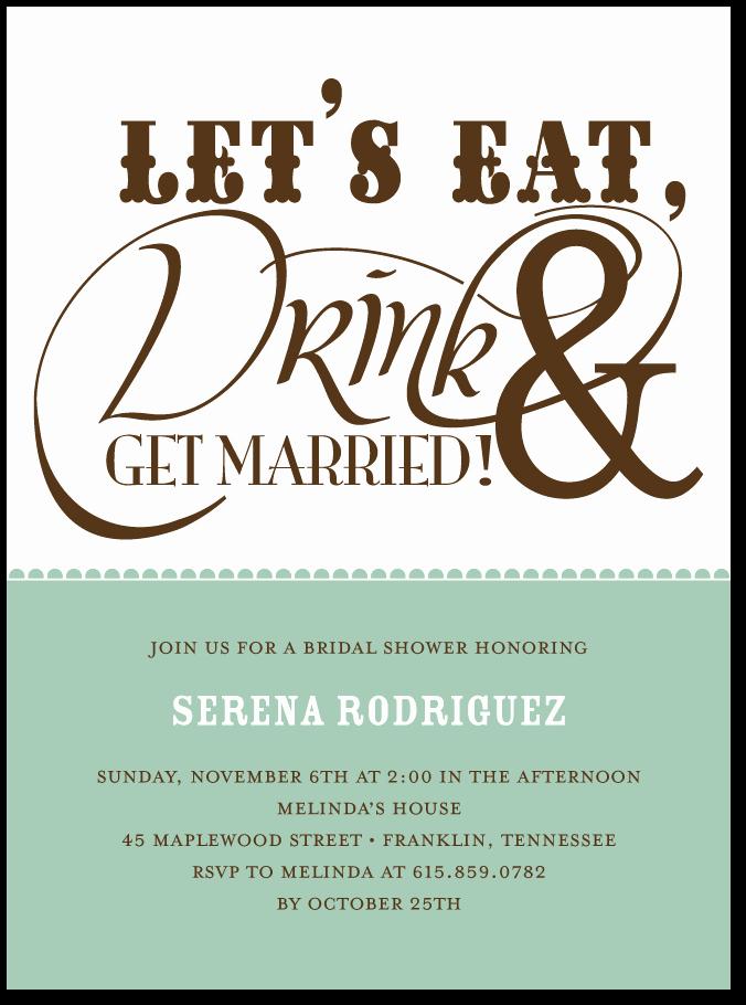 Potluck Wedding Invitation Wording Unique Potluck Bridal Shower Google Search Moh