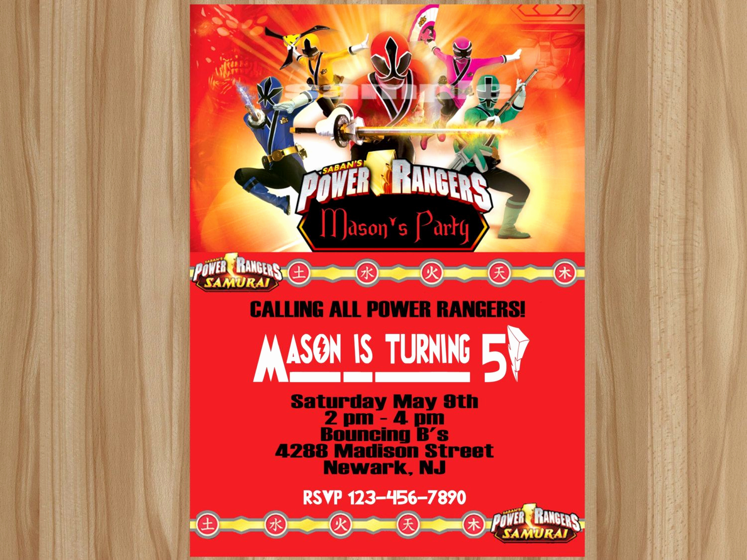 Power Rangers Birthday Invitation Template Best Of Awesome Power Ranger Birthday Invitations