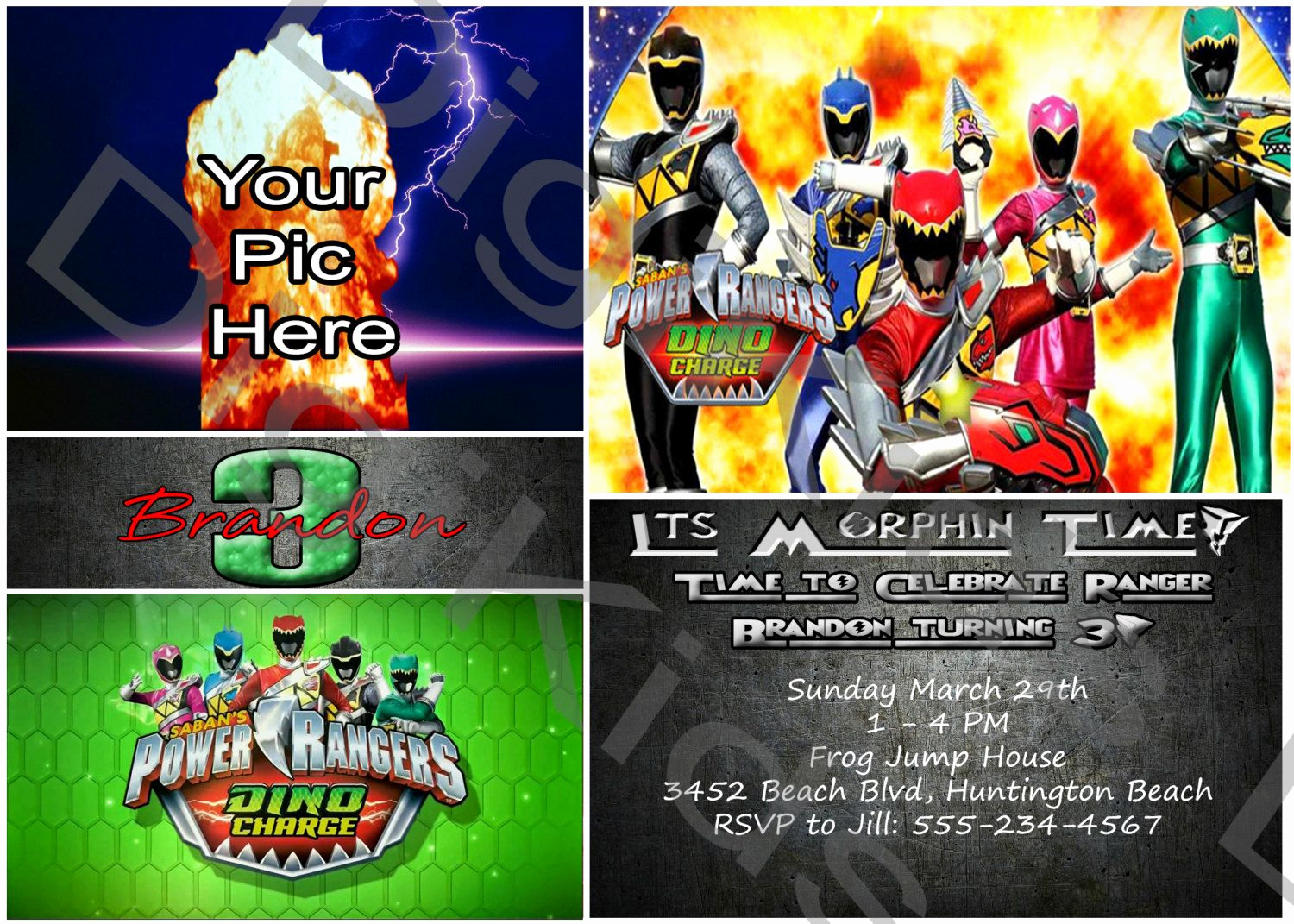 Power Rangers Birthday Invitation Template Inspirational Download Power Ranger Birthday Invitations Download This