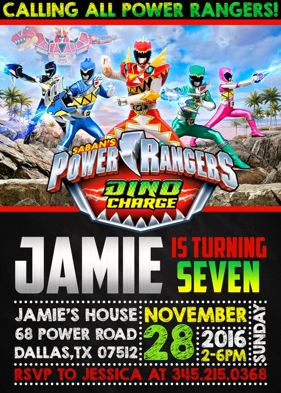 Power Rangers Birthday Invitation Template New 25 Melhores Ideias De Bolo De Power Ranger No Pinterest