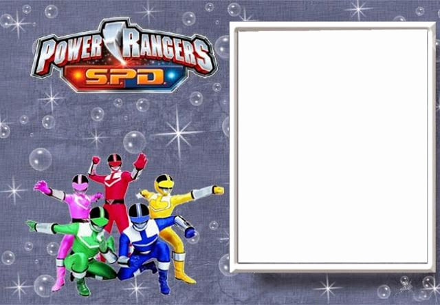 Power Rangers Birthday Invitation Template Unique Power Rangers Free Printable Invitations