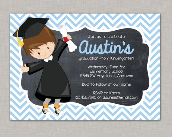 Pre School Graduation Invitation Inspirational Kindergarten Graduation Invitation Preschool Graduation
