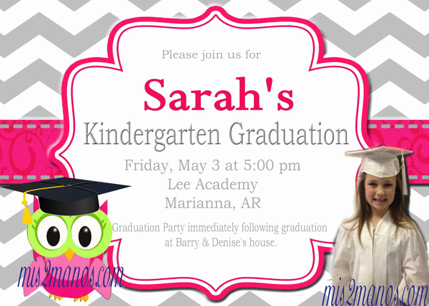 Pre School Graduation Invitation Luxury Graduation Invitation Preschool Kinder Diy Printable