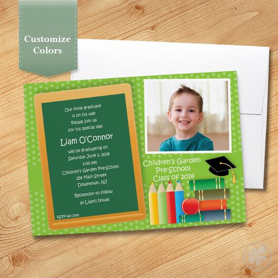 Pre School Graduation Invitation Luxury Items Similar to Pre School Graduation Invitation