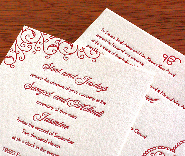 Pre Wedding Party Invitation Wording Unique Traditional Indian Sangeet Invitations Jessica