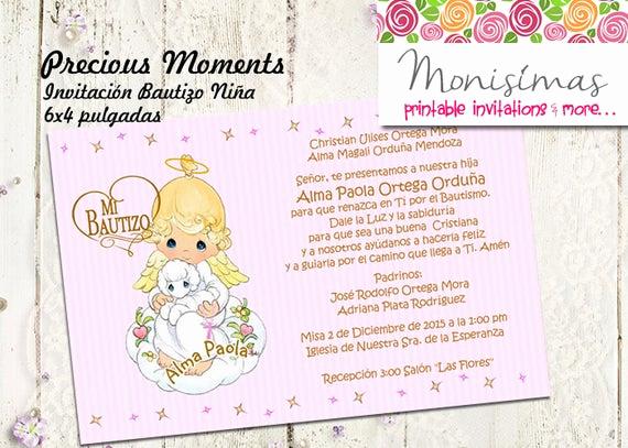 Precious Moment Wedding Invitation New Invitation Precious Digital Moments Personalized Printable