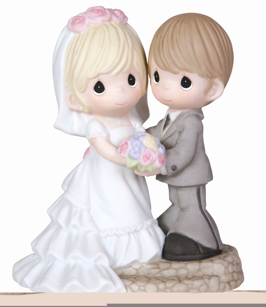 Precious Moments Wedding Invitation Best Of Precious Moments Cake topper 5 On Eweddinginspiration