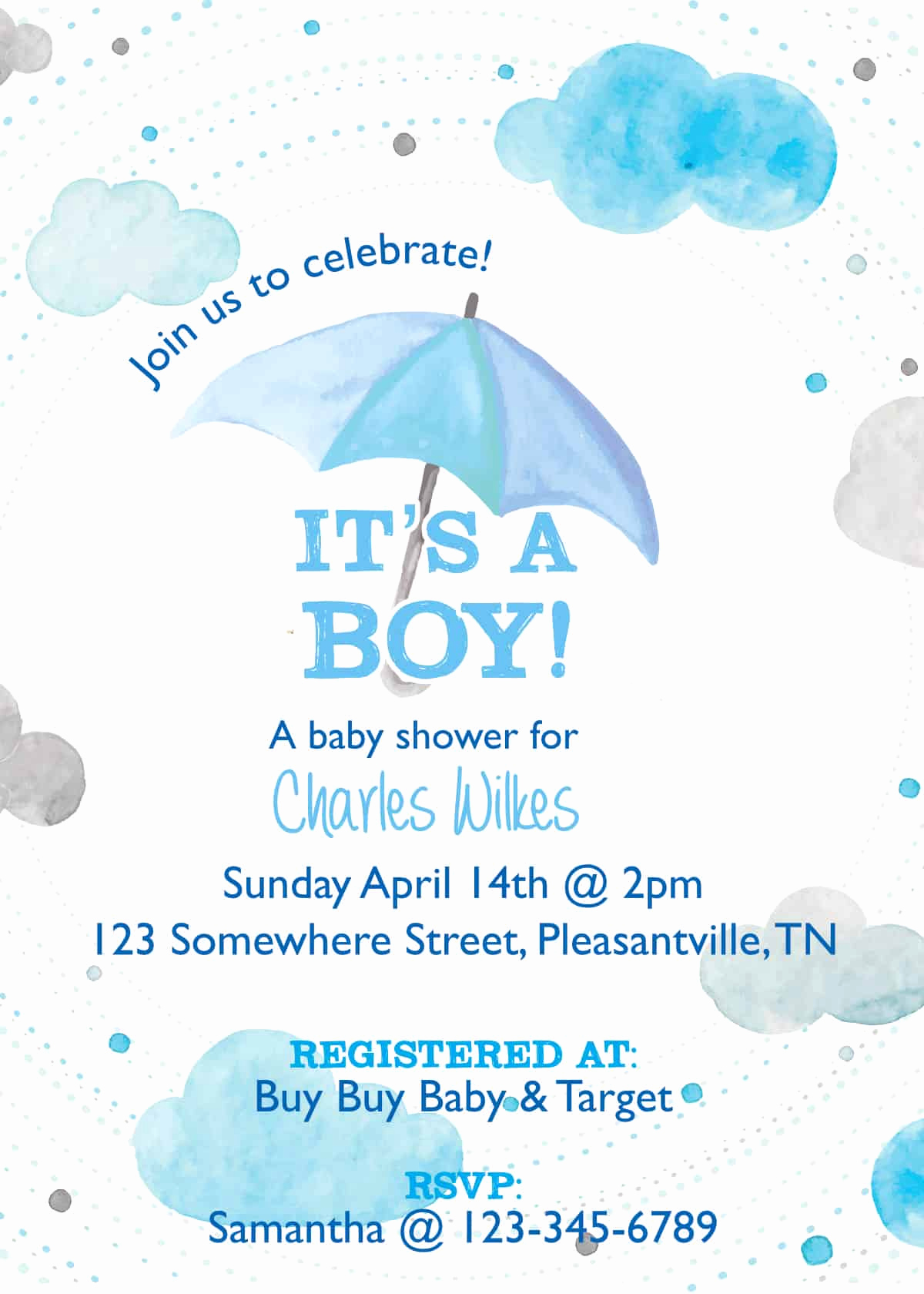 Preemie Baby Shower Invitation Wording Fresh Baby Shower Invitation Springtime Showers Happy Little