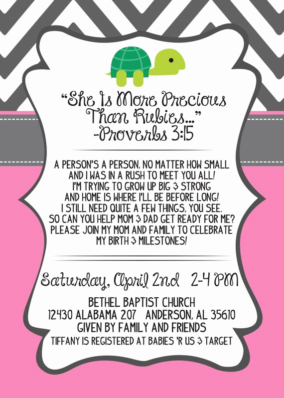 Preemie Baby Shower Invitation Wording Fresh Preemie Baby Shower Invitation Digital by southernbeecreations