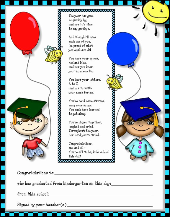 Preschool Graduation Invitation Template Elegant Free Kindergarten Graduation Invitation Template