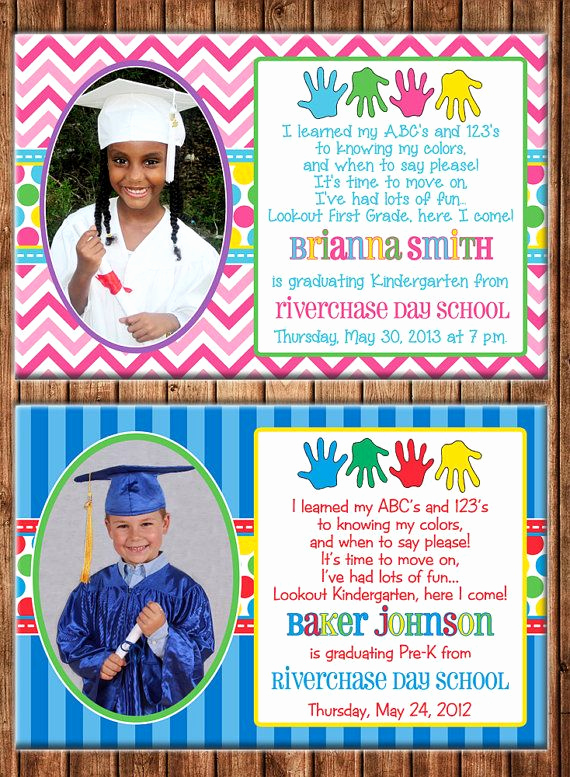 Preschool Graduation Invitation Template Luxury 17 Best Images About Preschool Beginning & End Of the Year