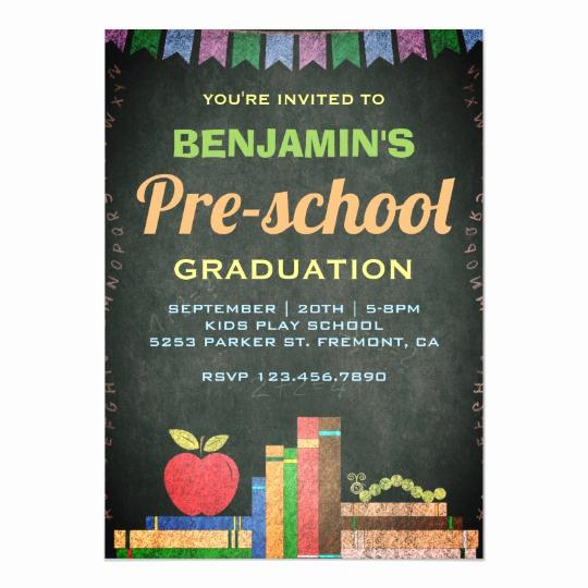 Preschool Graduation Invitation Wording Awesome Teacher Graduation Invitations