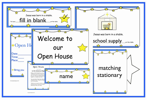 Preschool Open House Invitation Beautiful Charlotte S Clips and Kindergarten Kids Open House Activity