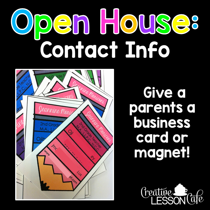 Preschool Open House Invitation Elegant Creative Lesson Cafe Open House Ideas for Teachers
