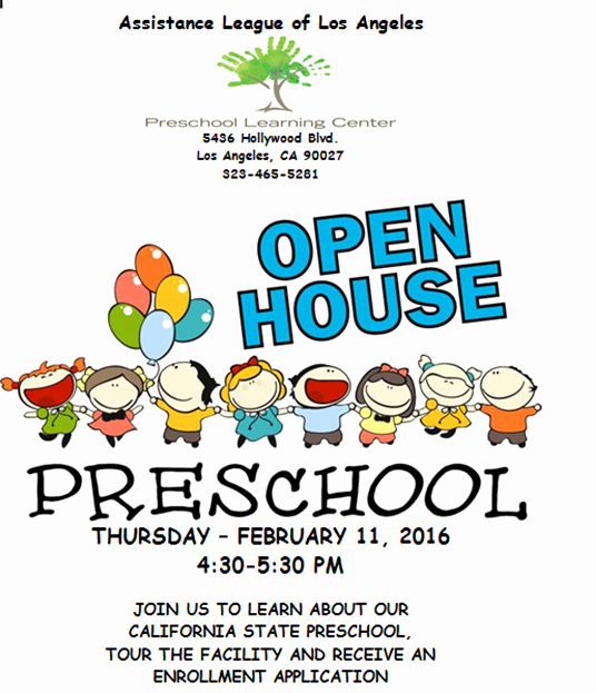 Preschool Open House Invitation Inspirational Preschool Learning Center's Open House Invitation