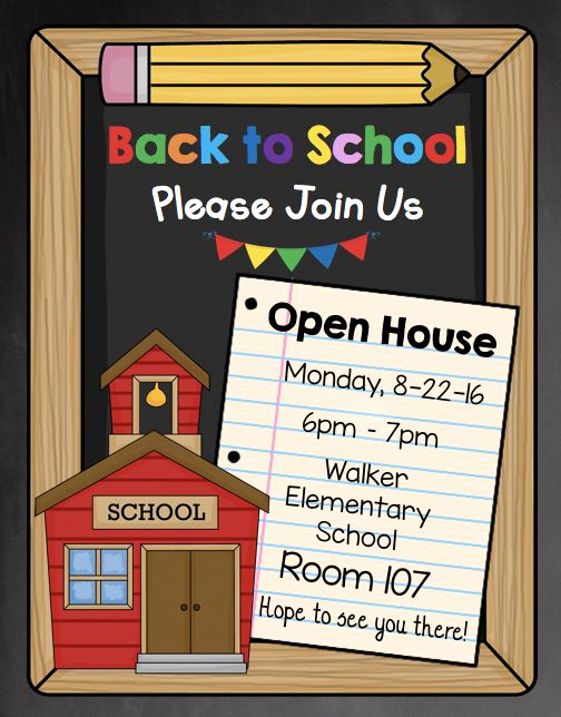 Preschool Open House Invitation Lovely Best 25 Preschool Open Houses Ideas On Pinterest
