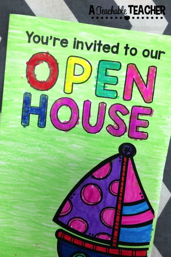 Preschool Open House Invitation Luxury Open House Tips and Tricks