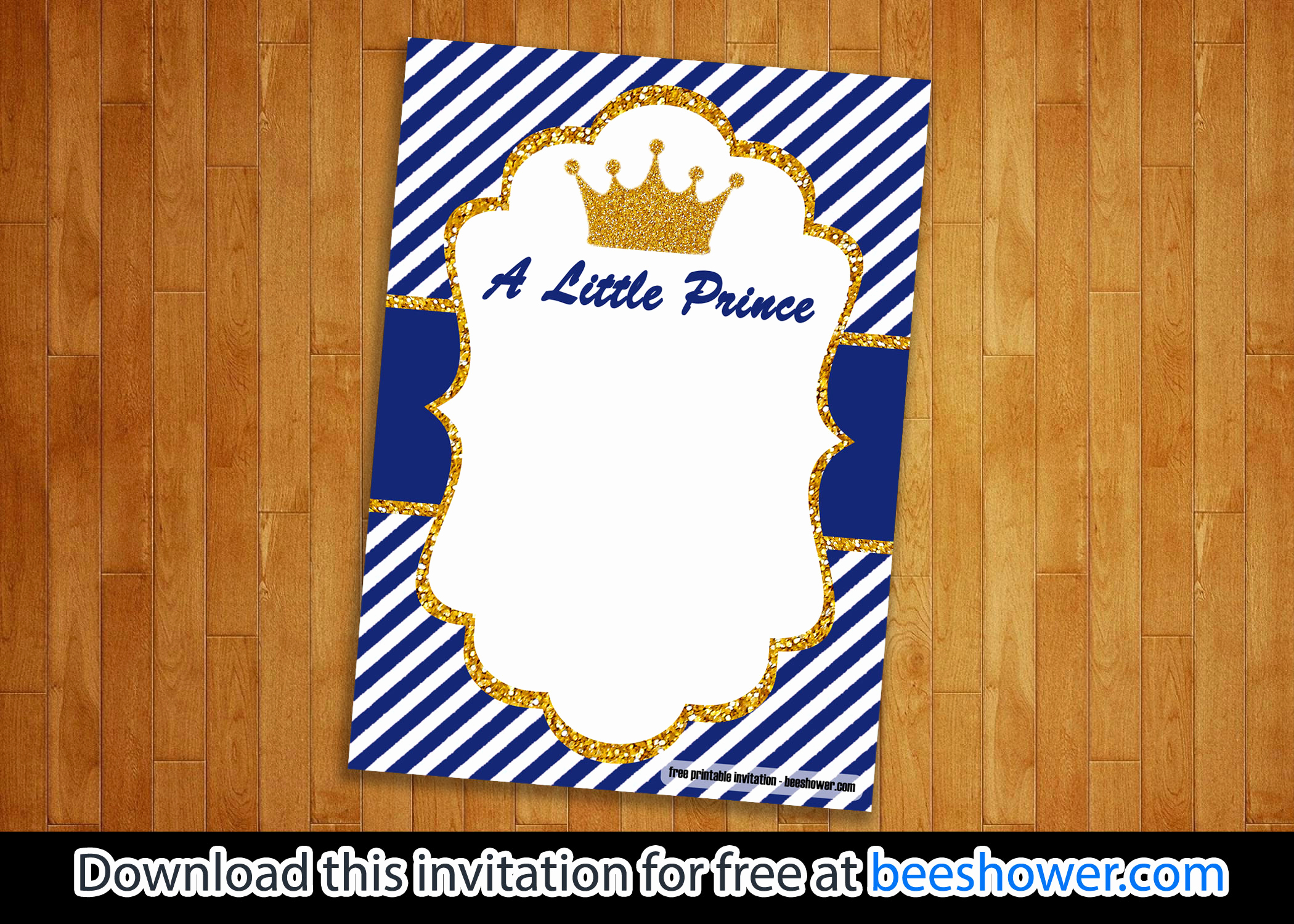 Prince Baby Shower Invitation Templates Best Of Free Little Prince Baby Shower Invitations Templates
