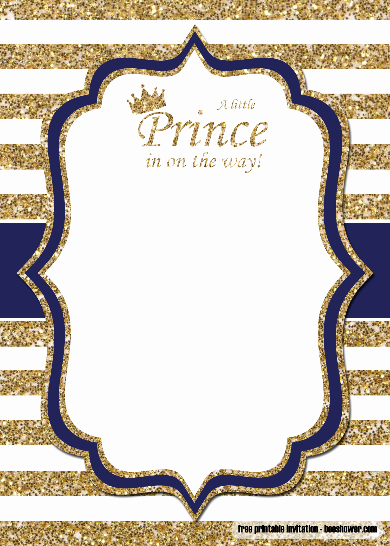 Prince Baby Shower Invitation Templates Best Of Free Prince Baby Shower Invitations Templates – Free
