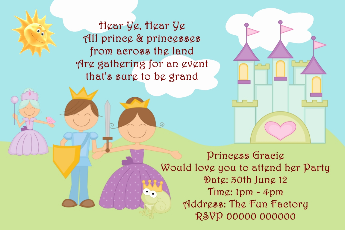 Prince Baby Shower Invitation Templates Lovely Prince Birthday Invitations