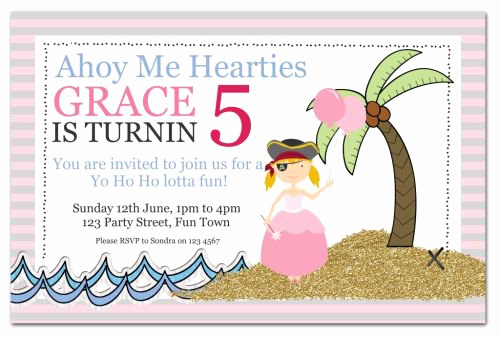 Princess and Pirate Invitation Awesome Printable Princess Pirate Party Invitations