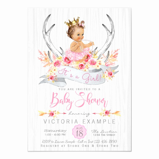 Princess Baby Shower Invitation Unique Princess Baby Shower Invitations