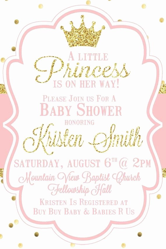 Princess Baby Shower Invitation Wording Awesome 25 Best Ideas About Princess Baby Showers On Pinterest