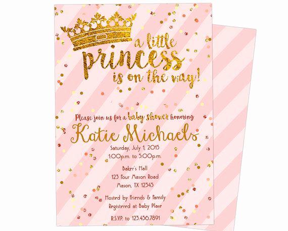 Princess Baby Shower Invitation Wording Elegant Best 25 Princess Baby Showers Ideas On Pinterest