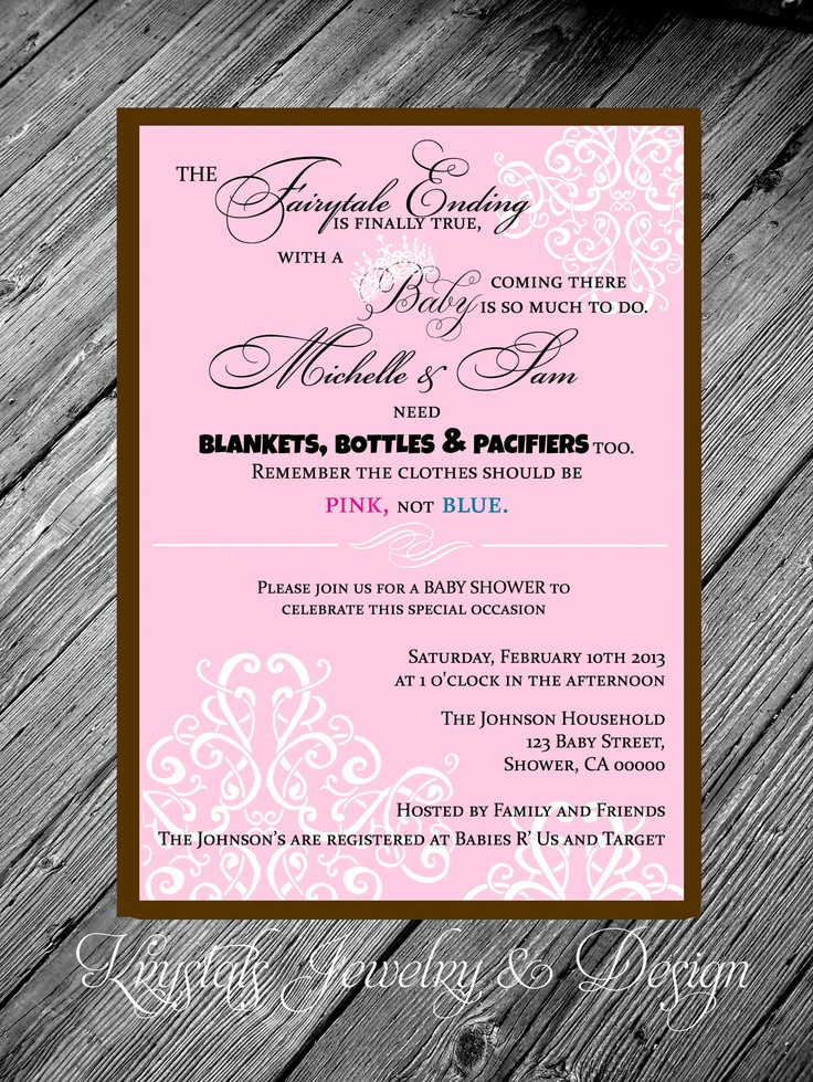 Princess Baby Shower Invitation Wording Lovely 28 Best Images About Princess Baby Shower On Pinterest